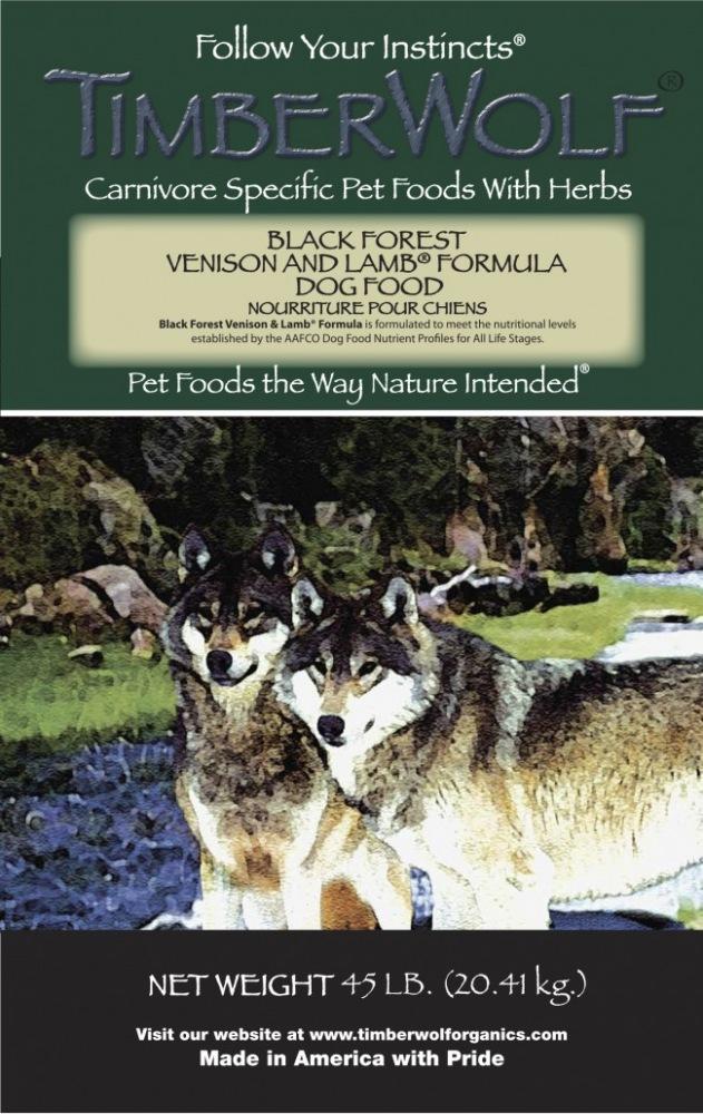 TIMBERWOLF ORIGINALS Black Forest® Venison and Lamb ...